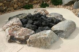 Rock Firepits The Variations Of Pit Glass Rocks Pit Rock Ship Design