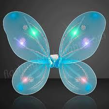 light up fairy wings aqua light up fairy wings by flashingblinkylights com