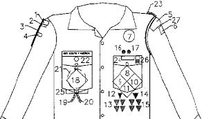 Arrow Of Light Patch Patch Badge Placement Detail Bremen Pack 259