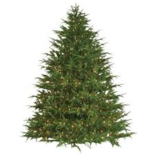9 christmas tree the aisle 9 green fir artificial christmas tree with 1400