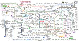 Seoul Subway Map by Welcome To Korea Scout Association