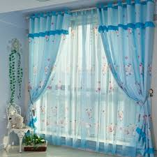 the most attractive beautiful curtain designs and blue color