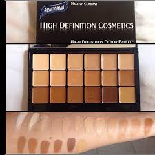 graftobian hi def glamour creme super palette hd makeupmakeup kitmakeup