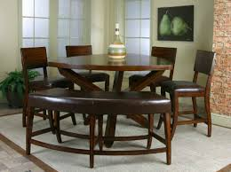 Dark Dining Room Table 26 Big U0026 Small Dining Room Sets With Bench Seating