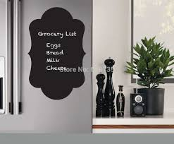 search on aliexpress com by image chalkboard fridge decal for kitchen decor chalkboard vinyl wall decal for refrigerator decoration free shipping b2016