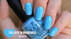 opi i believe in manicures swatch opi breakfast at tiffany u0027s