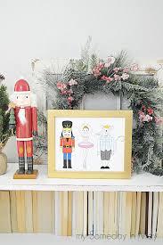 printable christmas targets nutcracker printable my someday in may