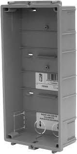 Alpha Steel Filing Cabinet Alpha Communications Ce620 Gb2 Flush Back Box 2 Module
