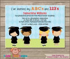 preschool graduation invitations preschool graduation v1 party invitation diy printable digital