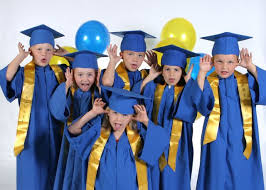 pre k cap and gown my thoughts on pre school and kindergarten graduation you may