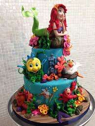 30 best a little mermaid cakes images on pinterest little