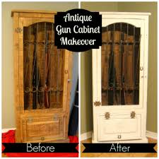 Wood Gun Cabinet Antique Gun Cabinet Decorate My Life