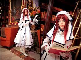 trinity blood trinity blood cosplay sister esther blanchett anime