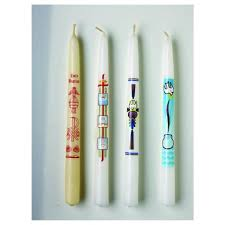 baptismal candles holy baptism baptismal candle sacramental candles candles
