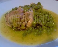 recette cuisine tous les jours poulet aux petits pois amina cuisine des douceurs