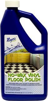 no wax vinyl floor clear gloss formula nl90411 nyco