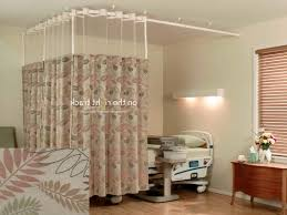 on the right track textile cubicle curtains regarding hospital