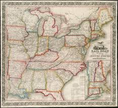 Road Map Of United States File Ensign Bridgman U0026 Fannings Rail Road Map Of The United