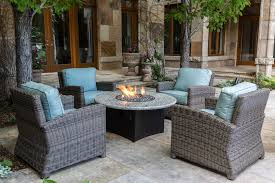 Patio Furniture With Fire Pit Set - oriflamme gas fire pit table granite fire pit for sale