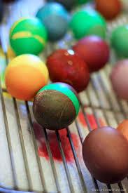 diy easter egg dye with food coloring and vinegar by claudya