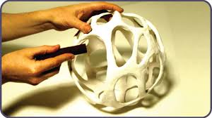 Cool Lamp Shade Awesome Diy Cellular Organic Lampshade Without A 3d Printer