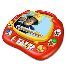 fireman sam laptop 27 00 hamleys fireman sam