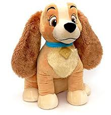 disney store lady large soft toy 47cm original lady tramp