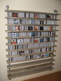 Cd Storage Ideas | 17 unique and stylish cd and dvd storage ideas for small spaces