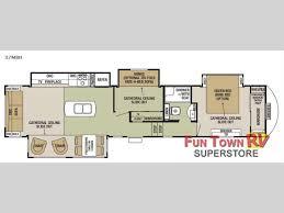 Rear Kitchen Rv Floor Plans 5th Wheel Floor Plans With Rear Kitchen Cougar 331mks Fifth