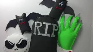 6 cool u0026 creepy diy handmade halloween decorations youtube
