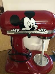 Purple Kitchenaid Mixer by Mickey Mouse Peeking Kitchenaid Mixer Vinyl Decal Sticker