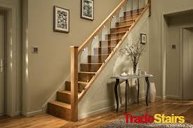 Oak Banister The New Axxys Clarity And Glass Handrail System
