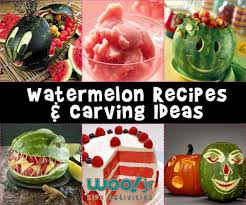 carving fruit summer recipes watermelon baskets