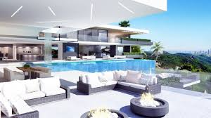 design a mansion two luxury ultramodern mansions on sunset plaza drive in la