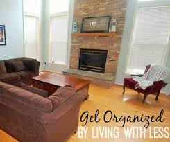 living with less get organized by living with less clutter the happy housewife