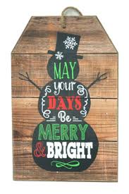 international home decor splash international hanging snowman sign bright and boutique