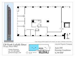 building plan 120 north lasalle