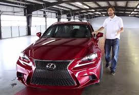 lexus is van prueba lexus is 2014 español youtube