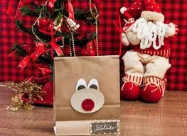 christmas paper bags diy christmas gift wrap ideas handmade bows gift bags and toppers