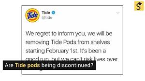 Challenge Snopes Snopes Is Tide Discontinuing Their Pods Product Because