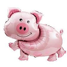 pig balloons pig jumbo foil balloon toys