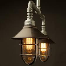 Plumbing Pipe Floor Lamp by Galvanised Plumbing Pipe Short Table Light