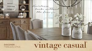 vintage casual furniture from ashley homestore