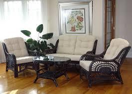wicker living room chairs malibu rattan wicker living room set 4 pieces 2 lounge chair