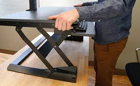 amazon com ergotron workfit tl sit stand desktop workstation