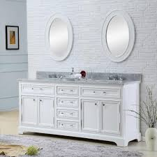 Bathroom Vanities Overstock by Water Creation Derby 72w 72 Inch Solid White Double Sink Bathroom