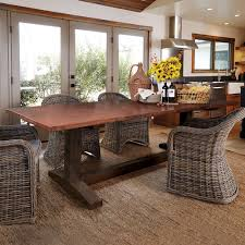 Farmhouse Copper Top Dining Tables Native Trails