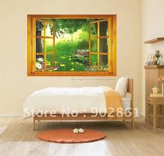 frameless picture hanging hanging mounted window wall decals frameless planked recycle pottery