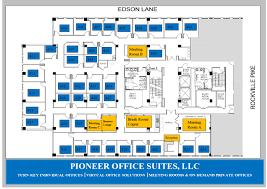 floor plans pioneer office suites