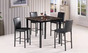 best quality furniture 5 piece counter height dining set u0026 reviews